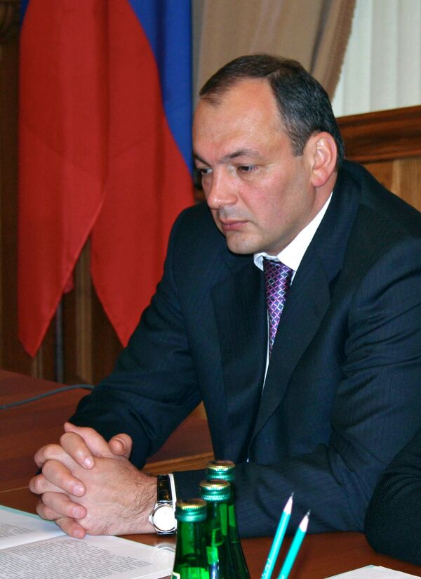 Dagestan's President Magomedsalam Magomedov - Sputnik International