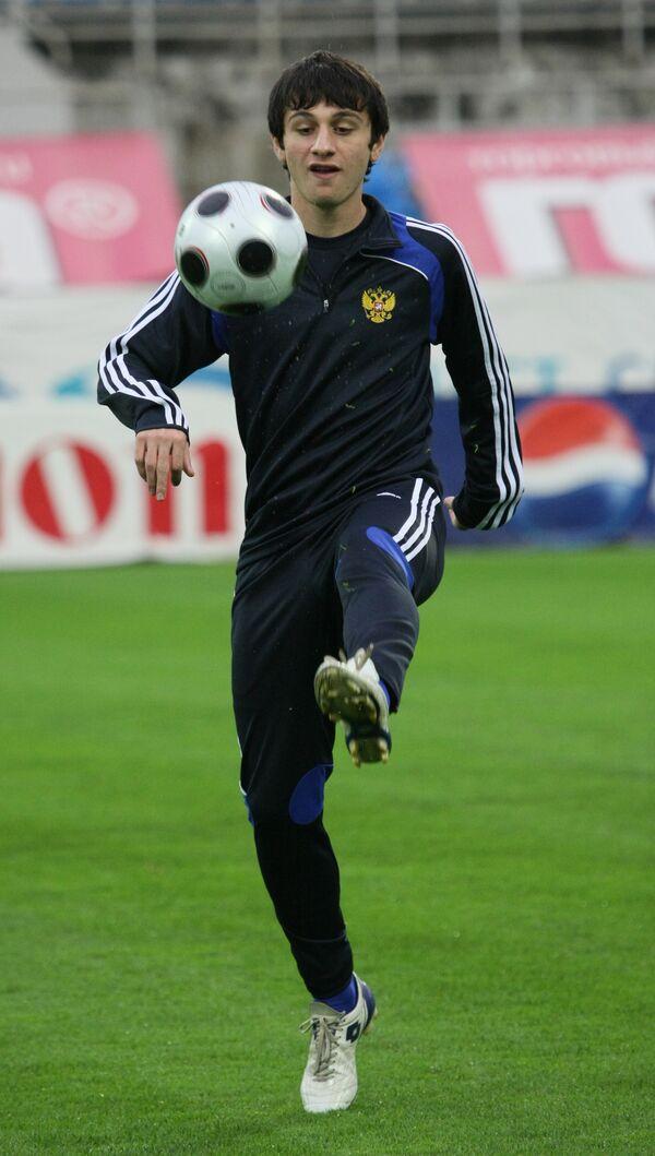 CSKA Moscow star Alan Dzagoev - Sputnik International