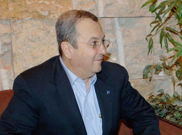 Israeli defense minister Ehud Barak - Sputnik International