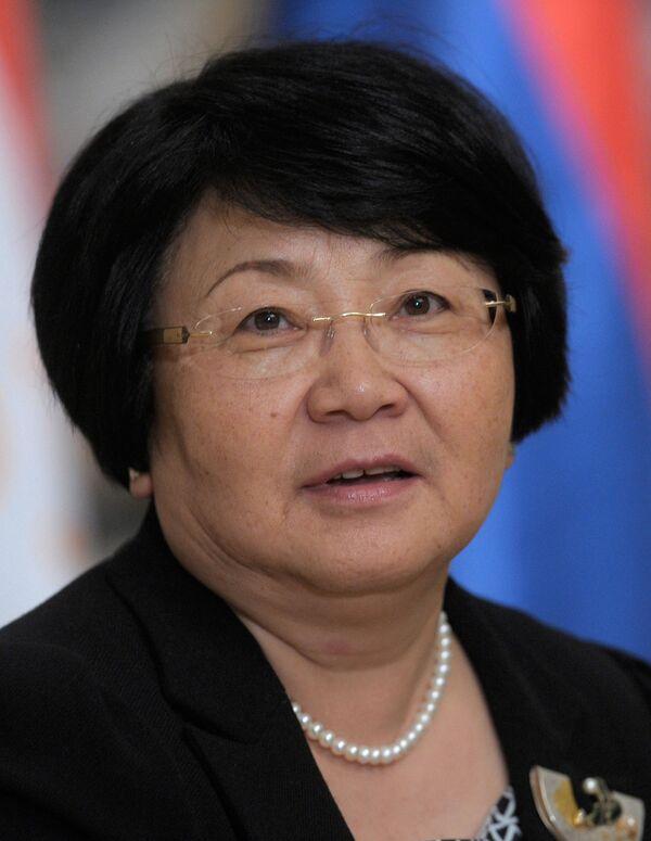 Roza Otunbayeva - Sputnik International