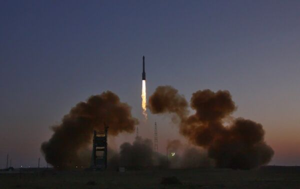 Russian Rokot carrier rocket to orbit Gonets-M satellite on September 8 - Sputnik International