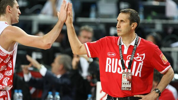 2010 FIBA World Cup - Sputnik International