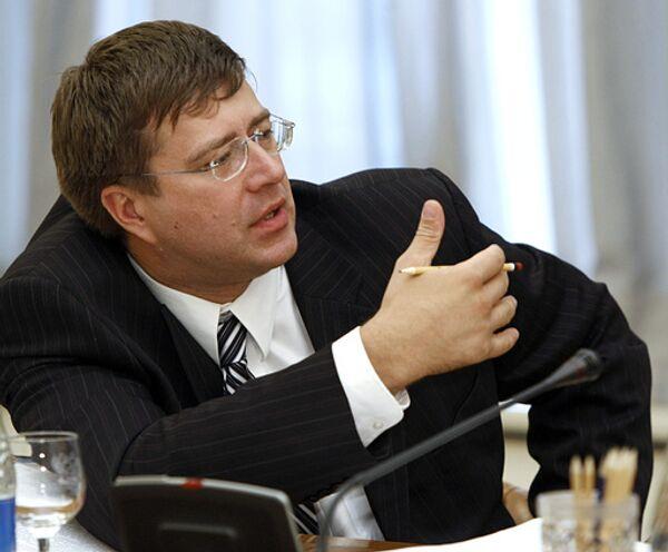 Russian Minister of Justice Alexander Konovalov - Sputnik International