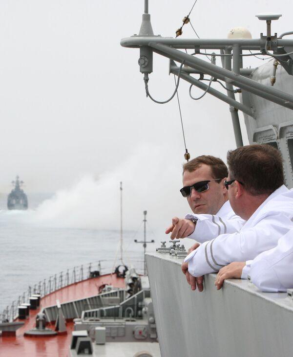 Dmitry Medvedev's Summer 2010  - Sputnik International