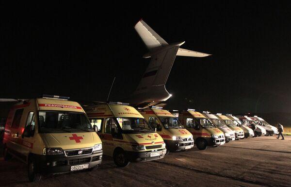 Vladikavkaz blast victims brought to Moscow - Sputnik International