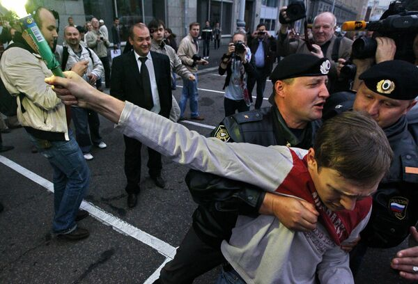 Russian law on protests must not suppress political activity - Medvedev - Sputnik International