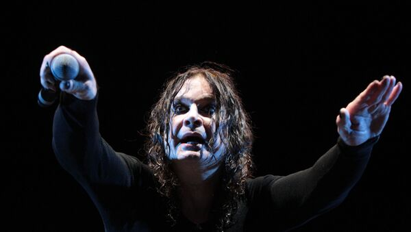 Grandfather of non-Russian rock, Ozzy Osbourne at his Moscow concert - Sputnik International