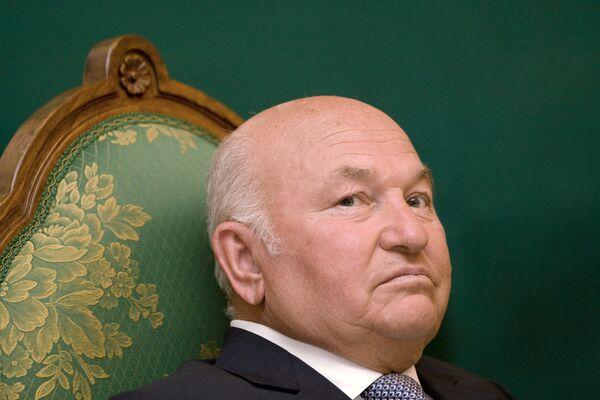 Moscow's Mayor Yuri Luzhkov - Sputnik International
