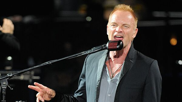Sting woos Moscow with some classic hits - Sputnik International
