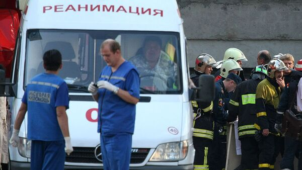 Specialists from the local emergencies department are currently working at the scene of the crash to establish the cause of the tragedy. - Sputnik International