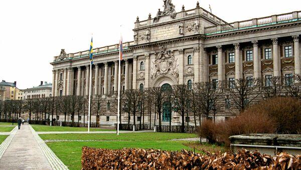 Swedish Parliament - Sputnik International