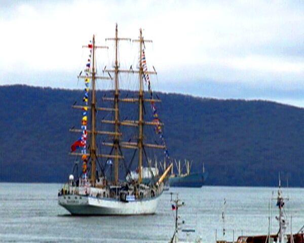 Russian sailing ship Nadezhda. Files - Sputnik International