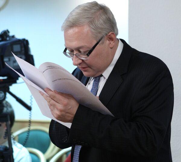 Sergei Ryabkov - Sputnik International