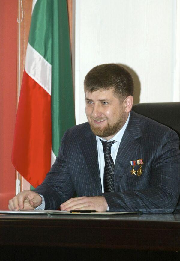 Chechen leader Ramzan Kadyrov  - Sputnik International