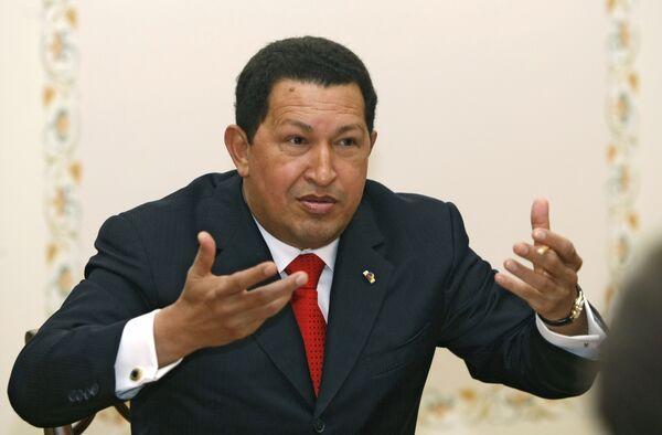 Venezuelan President Hugo Chavez - Sputnik International