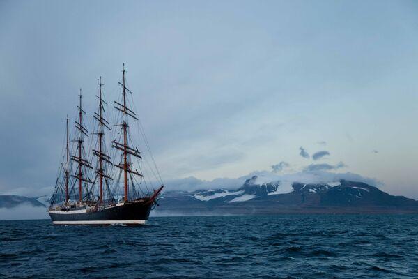 Sailing ship Sedov  - Sputnik International