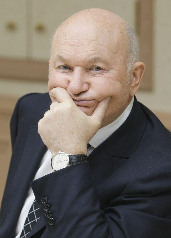 Moscow Mayor Yury Luzhkov - Sputnik International