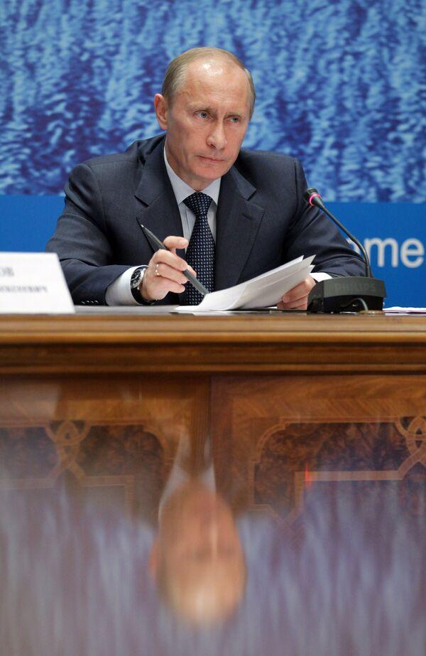Prime Minister Vladimir Putin in Syktyvkar - Sputnik International