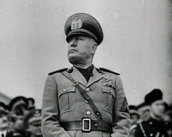 Benito Mussolini. Archive - Sputnik International