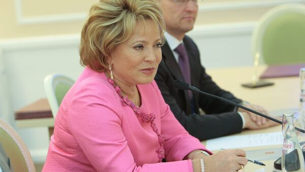 Russia's Federation Council Speaker Valentina Matvienko - Sputnik International