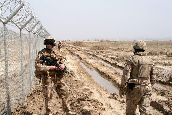 Soldiers in Afghanistan - Sputnik International