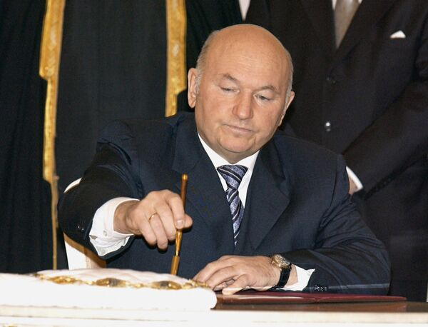 The Kremlin had reportedly given 74-year-old Luzhkov the opportunity to resign on his own before he was given the ax, but he had refused to. - Sputnik International