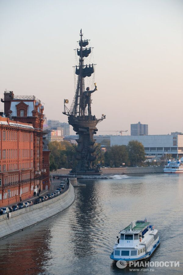 Peter the Great Statue: 98 meters of bronze, steel and copper - Sputnik International