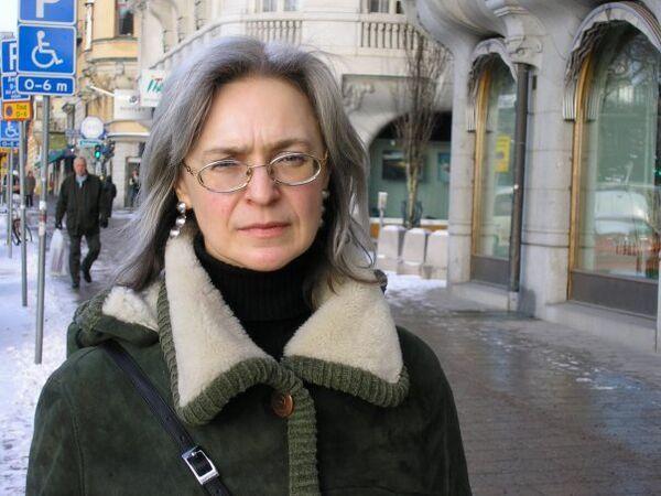 Murdered Russian journalist Anna Politkovskaya - Sputnik International