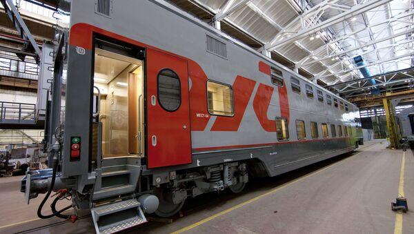 A Russian Railways passenger car - Sputnik International