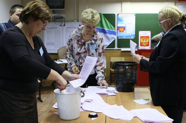 United Russia dominates regional elections - Sputnik International