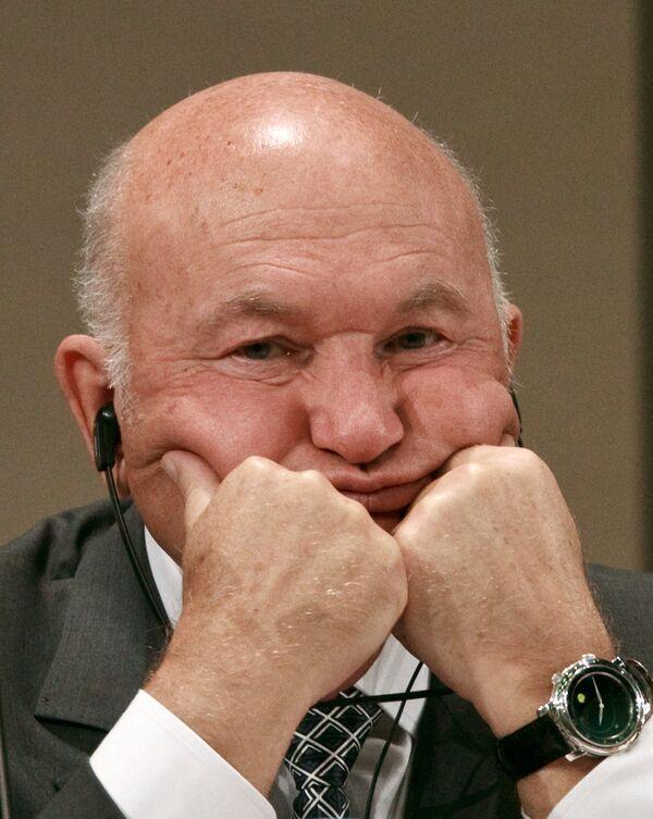 Moscow ex-mayor Yury Luzhkov - Sputnik International