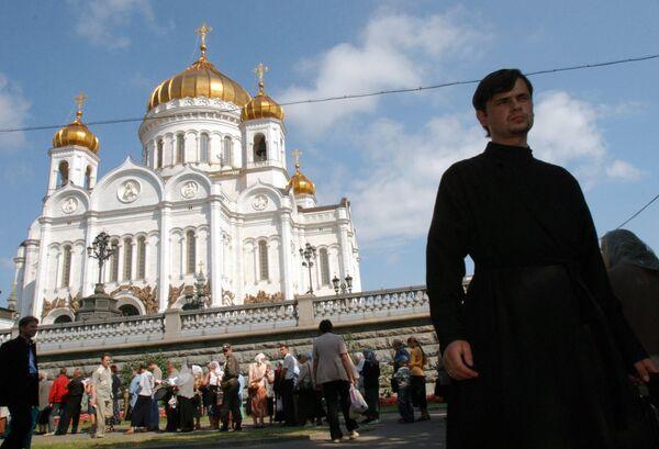 Moscow's Christ the Savior Cathedral. - Sputnik International