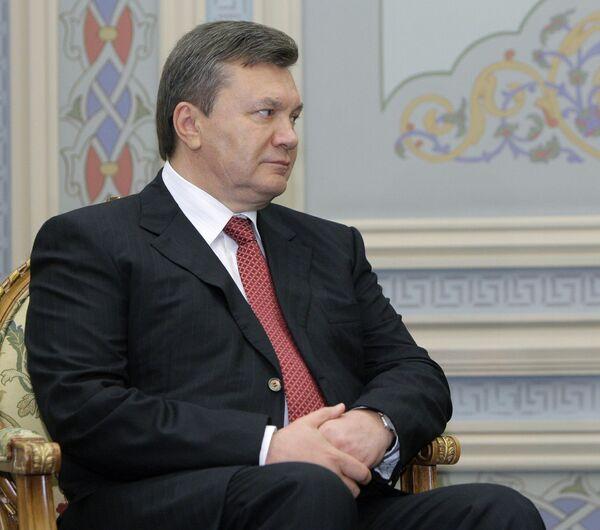 President Viktor Yanukovych  - Sputnik International