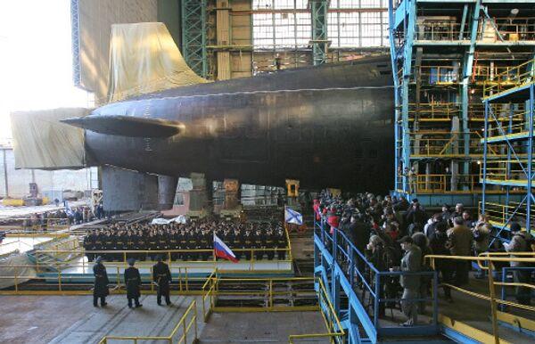 Borey-class strategic nuclear-powered submarine, the Yury Dolgoruky - Sputnik International