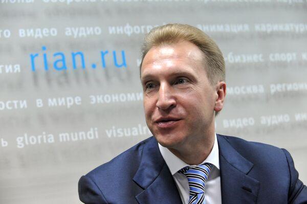 First Deputy Prime Minister Igor Shuvalov - Sputnik International