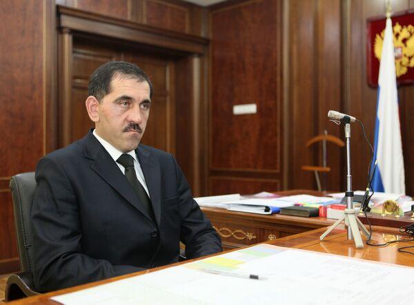 Ingush leader Yunus-Bek Yevkurov - Sputnik International