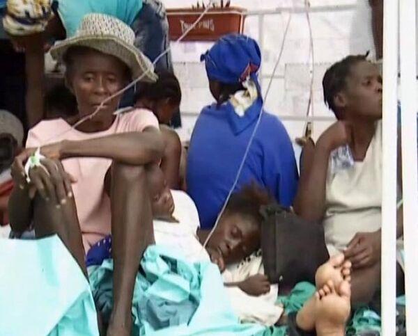 Haiti struck by cholera epidemic  - Sputnik International