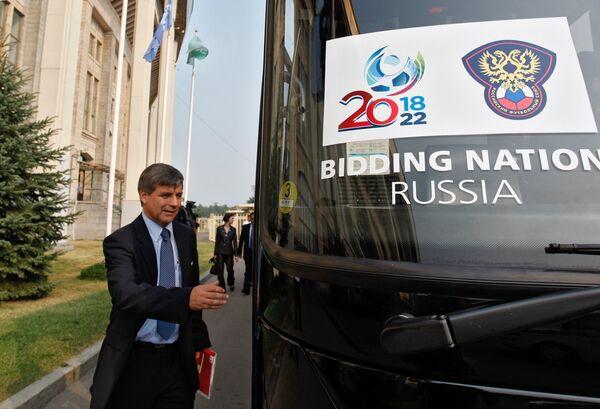 England's World Cup bid team complain to FIFA over Russian remarks - Sputnik International