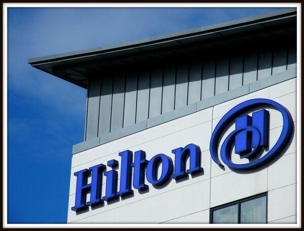 Hotel chain Hilton Worldwide logo - Sputnik International
