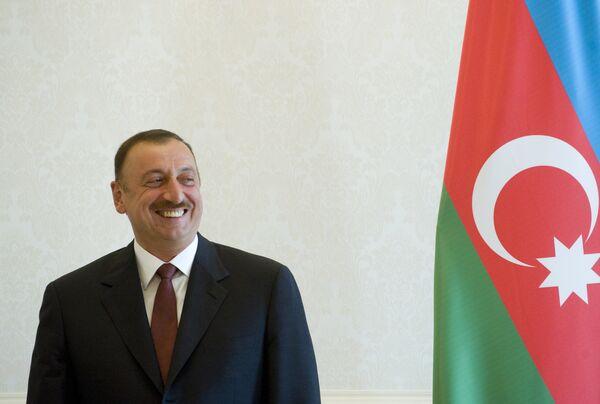 Azerbaijani president Ilkham Aliev - Sputnik International