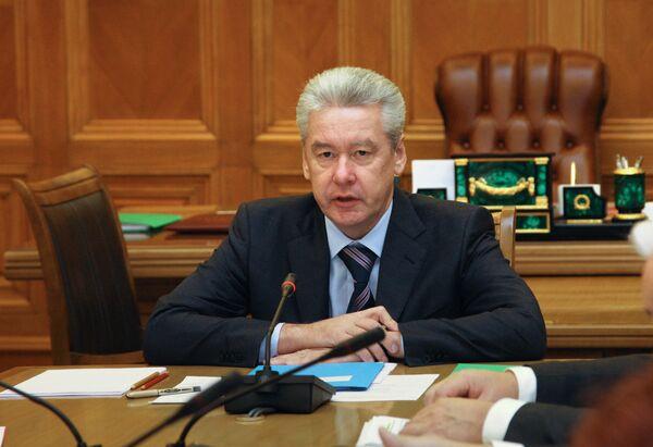 New Moscow Mayor Sergei Sobyanin - Sputnik International