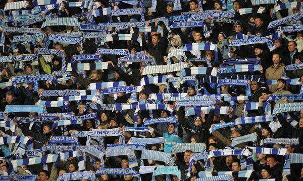Zenit Fans 'Awesome' - Witsel - Sputnik International