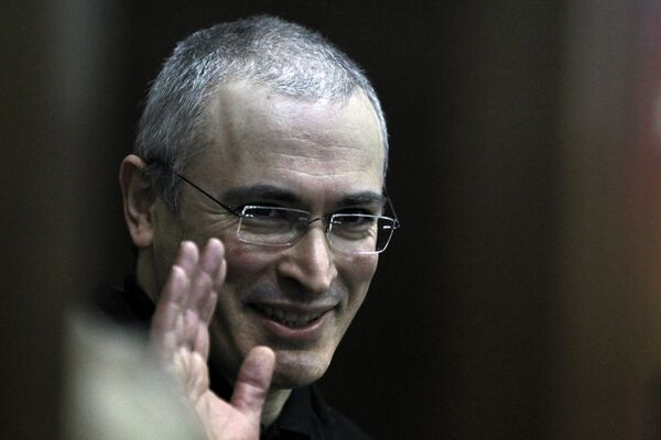 Former Yukos CEO Mikhail Khodorkovsky - Sputnik International