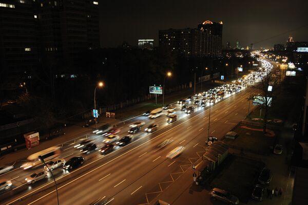 Moscow traffic jams test for federal government - Sputnik International