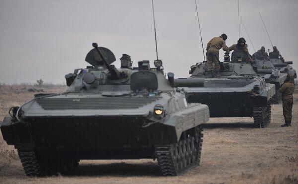 CSTO military drills concluded in Chebarkul - Sputnik International