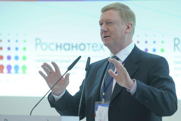 Rusnano CEO Anatoly Chubais - Sputnik International
