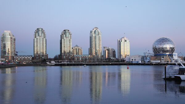 Olympic Village and Russia House in Vancouver - Sputnik International