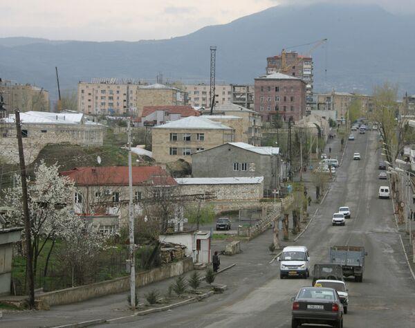 Russian, Azerbaijani, Armenian FMs discuss Karabakh settlement in Moscow - Sputnik International
