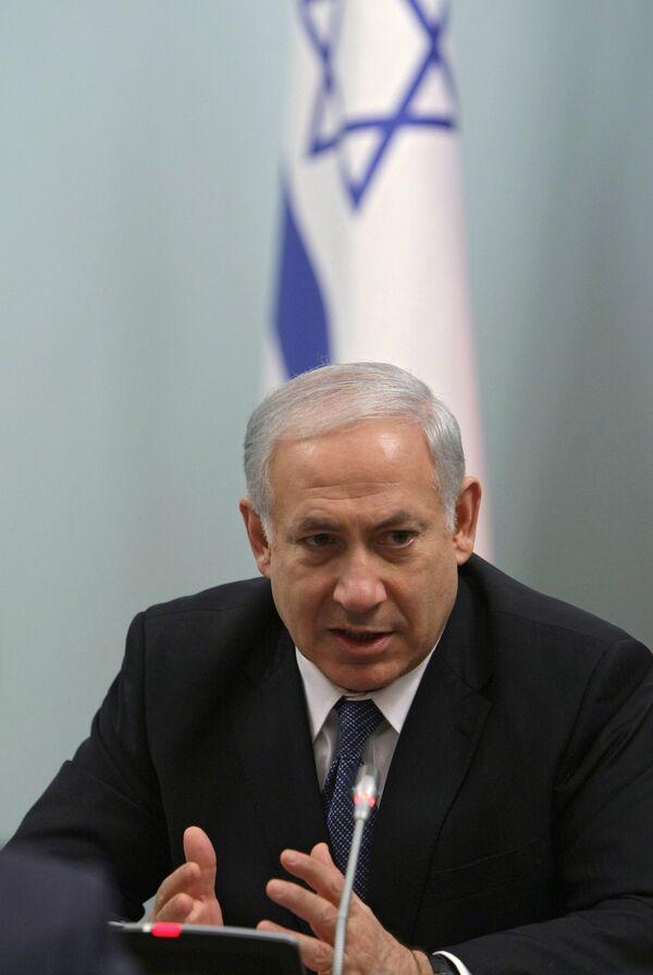 """Israeli Prime Minister Benjamin Netanyahu ordered to strike """"terror targets"""" in the Gaza Strip - Sputnik International"""