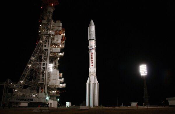 ILSprovides spacecraft launch services for Proton-M heavy carrier rockets. - Sputnik International